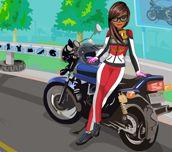 Oblíkačka - motorkářka